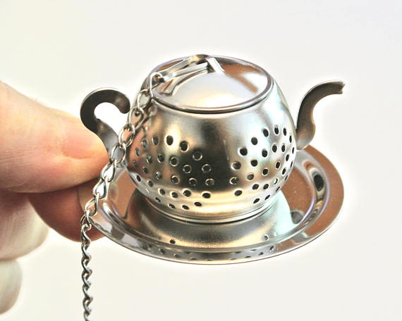 Book Tea-Infuser with Pen - NutriTeaCup