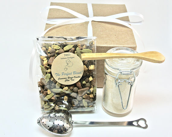 Chai Tea & Ginger Sugar Gift Set - NutriTeaCup