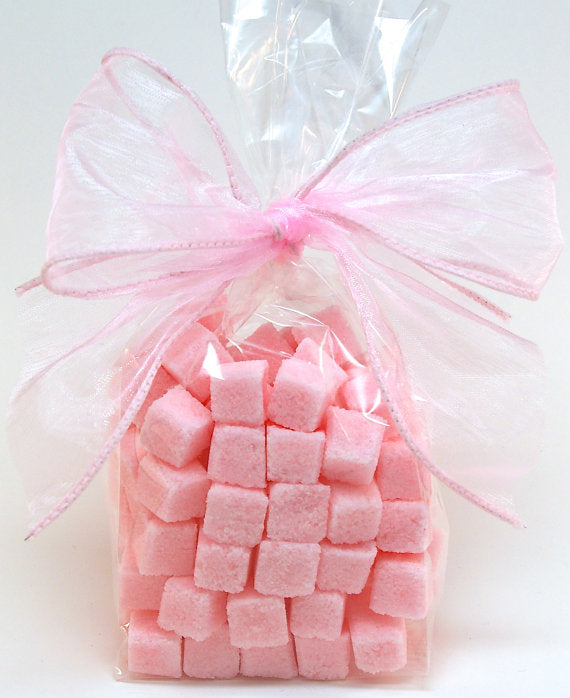 Rose Petal Flavored Sugar Cubes, Tea Party - NutriTeaCup