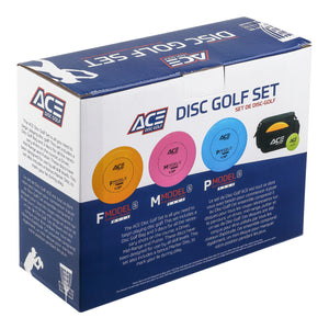 Prodigy ACE Disc Golf Set (3 Disc Pack with Mini) available 4 weight options