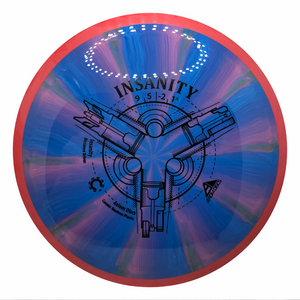 Axiom Cosmic Neutron Insanity-Swirl Stamp 173-175g