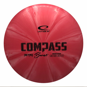 Latitude 64 Retro Burst Compass 173-175g