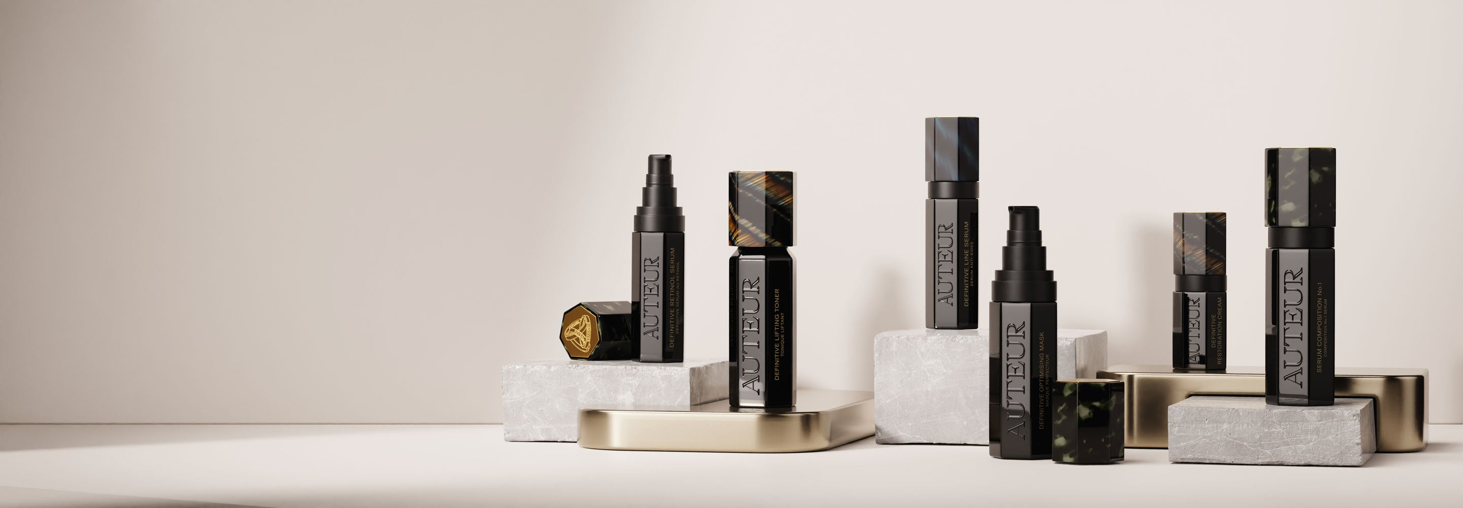 High-active compositions elevating skincare to an art form and your deepest authentic beauty to your surface.