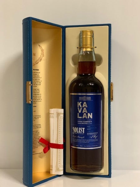 KAVALAN-SOLIST - 70CL - 59.4% OB - VINHO BARRIQUE- BOX 138/177