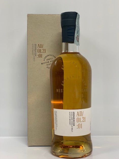 ARDNAMURCHAN AD/01.21:01 Highland Single Malt Scotch Whisky - 46,8%  - 0,70CL -  Box