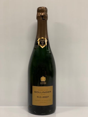 Bollinger Champagne R.D. Extra Brut Millesimato 2007 - 0,75cl -