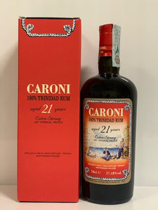 Caroni 100 Imperial Proof Extra Strong 21 Rum con box - 70 cl