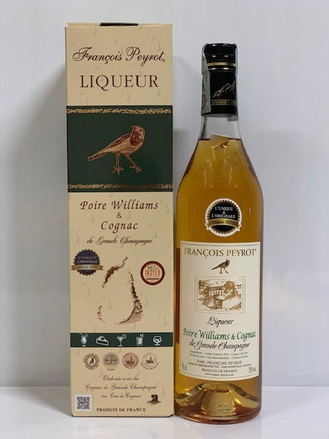 Francois Peyrot Liqueur Poire Williams au Cognac con box - 70 cl