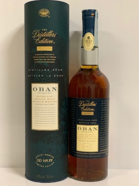 OBAN D.E. 2020   (2006-2020)   - 0,70cl -   Box