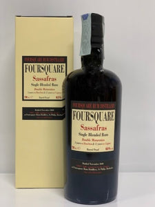 Foursquare Sassafras Single Blended Rum Double Maturation 2006 14 YO - 0,70cl - Box
