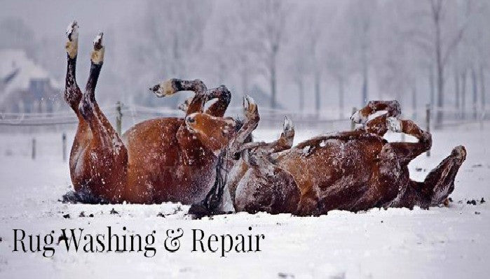 Rug Washing & Repair Service at Saoirse Saddlery