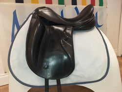 "17½"" Barnsby Kingdom Monoflap Dressage Saddle - Saoirse Saddlery"