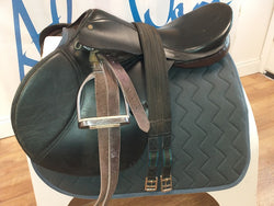 "18½"" Berney Jump Saddle - Saoirse Saddlery"