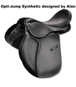 'Opti-Jump' Synthetic Jumping Saddle