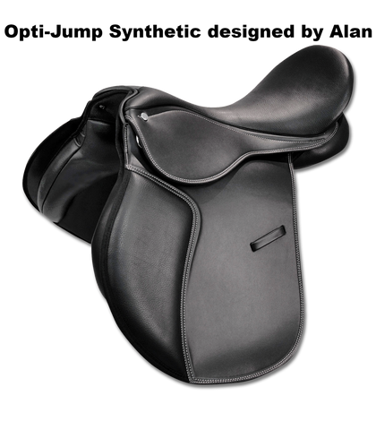 'Opti-Jump' Synthetic Jumping Saddle - Saoirse Saddlery