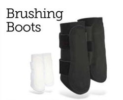 CLEARANCE Barnsby Brushing Boots - Saoirse Saddlery
