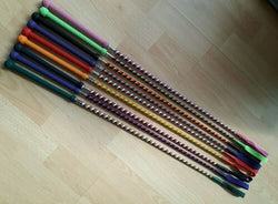 "24"" Candy Coloured Whip - Saoirse Saddlery"