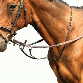 Leather Running Martingale - Saoirse Saddlery