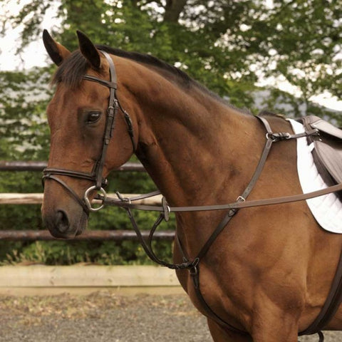 Classic Hunting Breastplate - Saoirse Saddlery