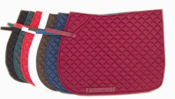 Alan Ward Saddles Embroidered Saddlecloth - Saoirse Saddlery