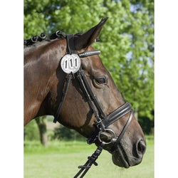 Horse Starting Number With Crystal Stones - Saoirse Saddlery