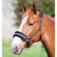 Adjustable Nylon/Fleece Headcollar - Saoirse Saddlery