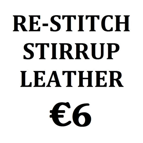 #: Re-Stitch Stirrup Leather - Saoirse Saddlery