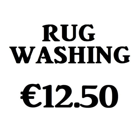 # Rug Washing - Saoirse Saddlery