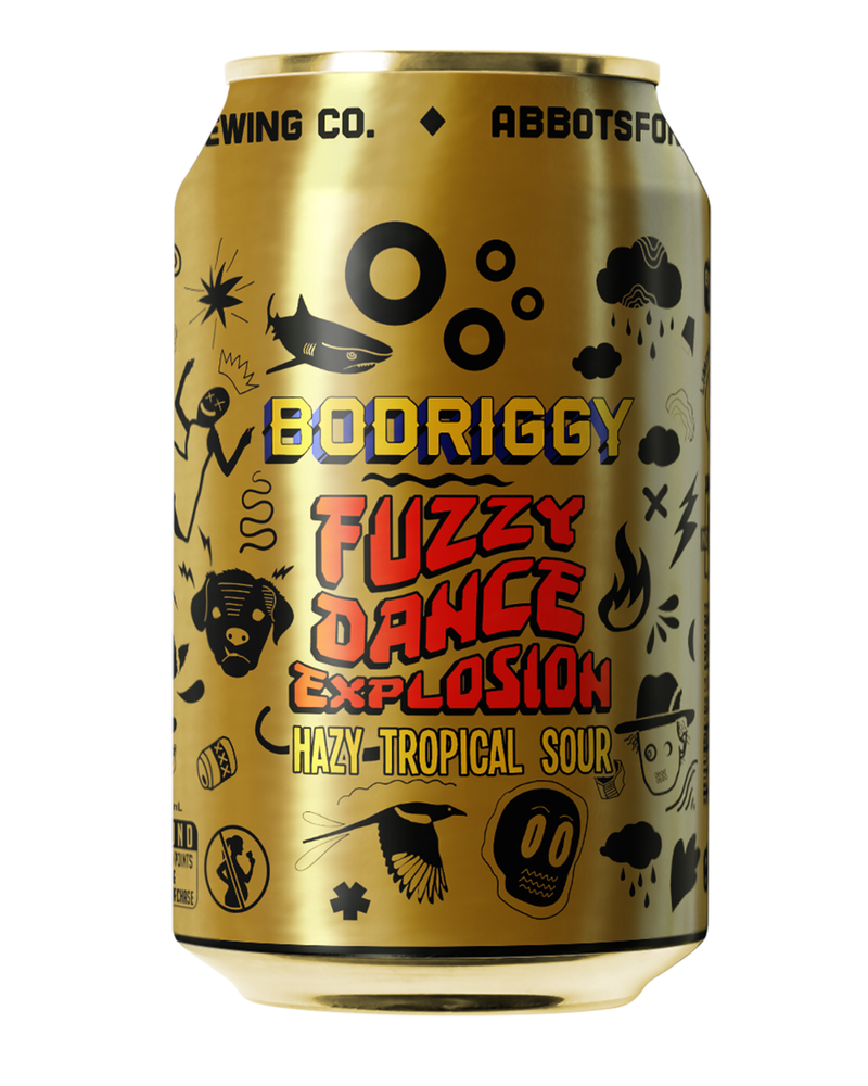 Fuzzy Dance Explosion Tropical Hazy Sour