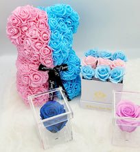 Load image into Gallery viewer, Gender Reveal  Luxury Rose Teddy Bear