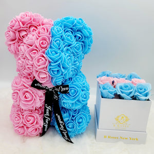Gender Reveal  Luxury Rose Teddy Bear
