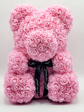 Load image into Gallery viewer, Pink Rose Teddy Bear