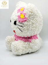 Load image into Gallery viewer, Forever Rose Hello Kitti flower bear