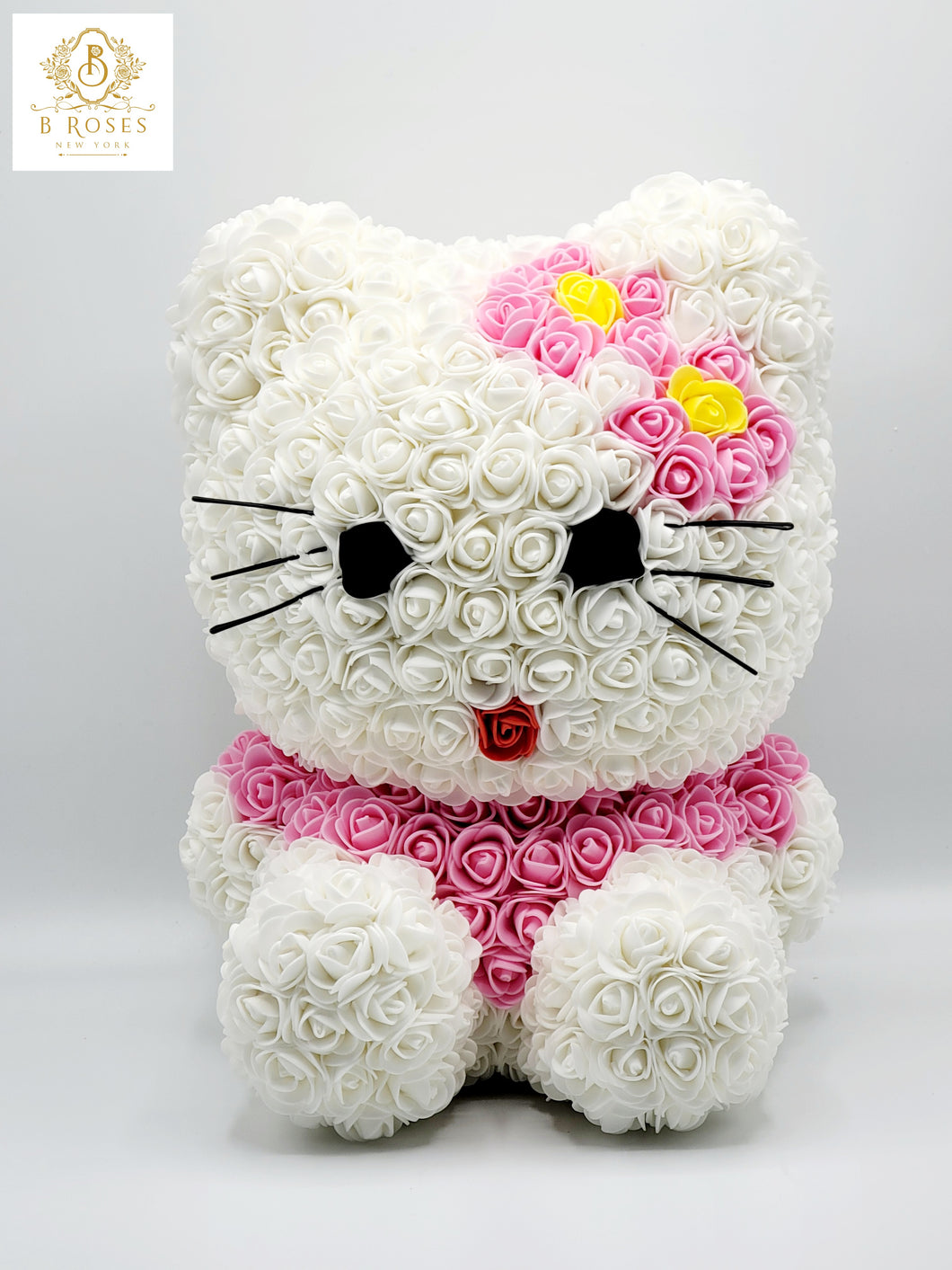 Forever Rose Hello Kitti flower bear