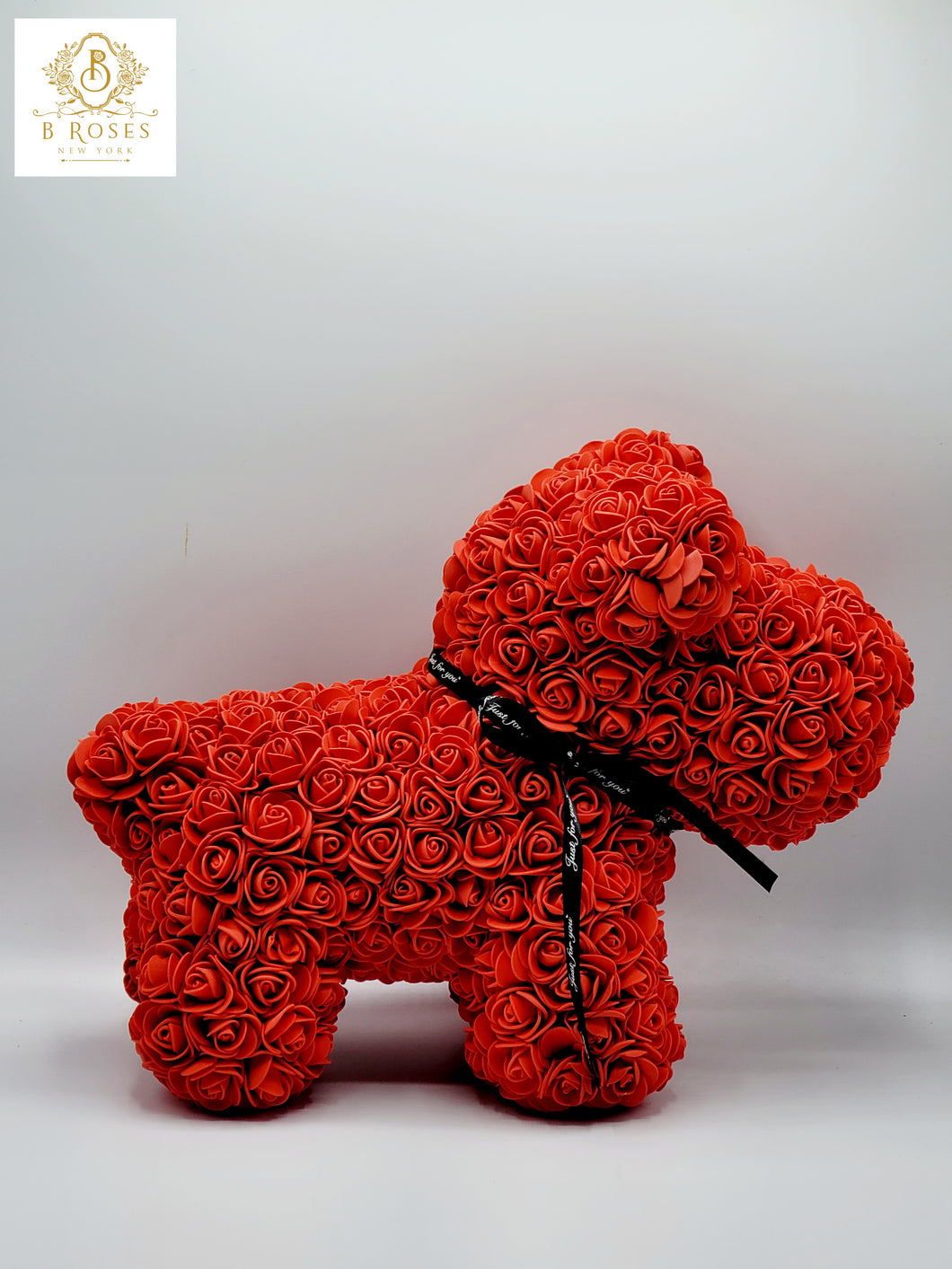 Luxury  Red Forever Rose Dog
