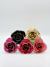 Load image into Gallery viewer, PURPLE 24K GOLD DIPPED ROSE