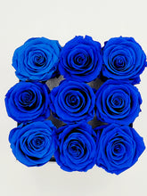 Load image into Gallery viewer, Classic Square Royal Blue Roses