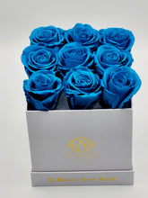 Load image into Gallery viewer, Classic Square Blue Roses