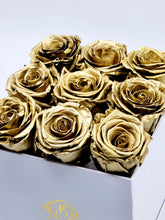 Load image into Gallery viewer, Classic Square Gold Roses