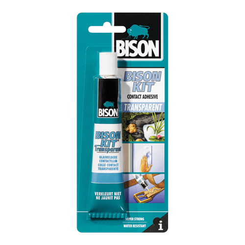 bison kit contact adhesive väritön
