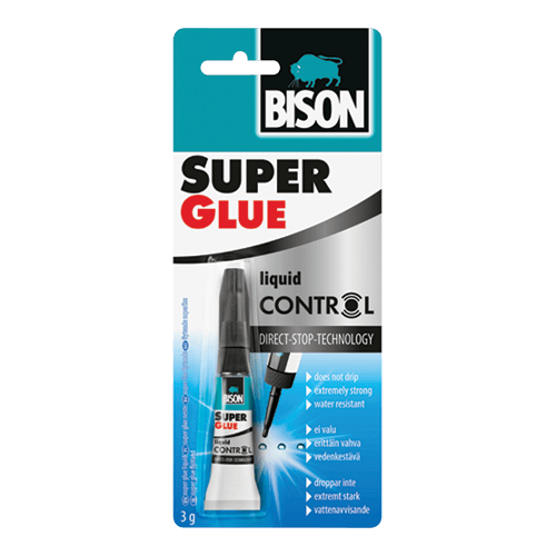 Bison super glue control
