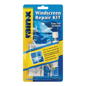 rain x windscreen repair kit 1g