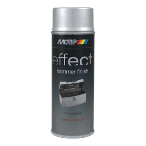 motip EFFECT HAMMER FINISH SILVER