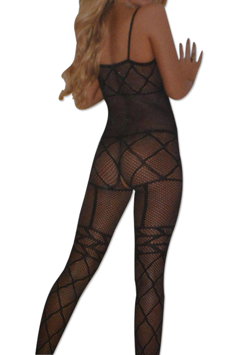 Women Fishnet Fashion Full Body Stockings