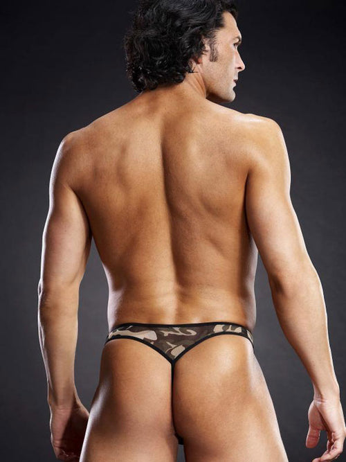 Men's Sexy Mesh G String By Blue Line