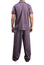 Men's Cotton Purple Night Suit By Suman Nathwan