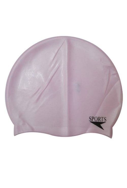 Unisex Plain Silicone Swimming Cap