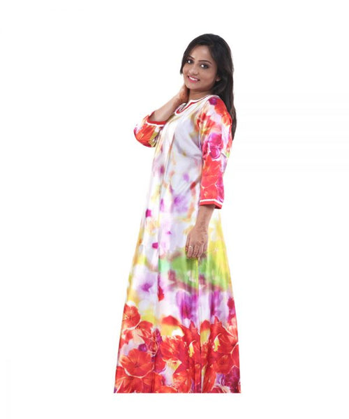 Women Satin Nighty By Suman Nathwani