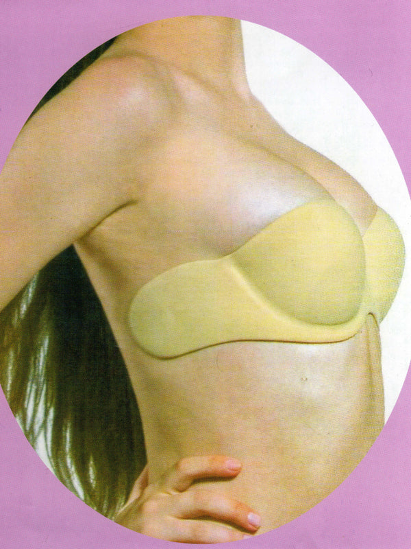 Women  Nylon Stick on Push-ups Bra