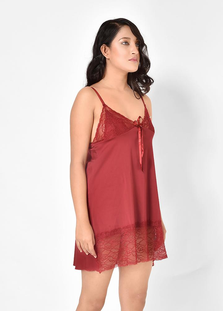 Women Sexy Short Bedroom Nighty
